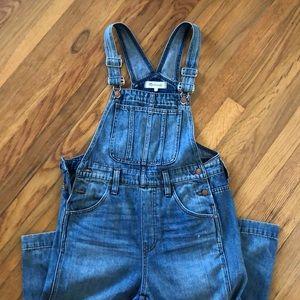 Madewell overalls